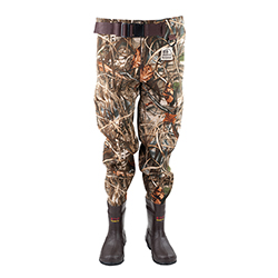 Hodgman Men's Brighton Waist Pants Camo 12, Men's Boating Boots
