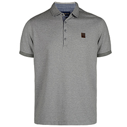Henri Lloyd Men's Wake Regular Polo Grey Xl, Men's Boating Polo Shirts