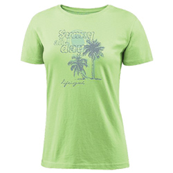 Life IS Good Women's Sunny All Day Crusher Tee Citron Green, Women's Boating Graphic Short-Sleeve Tees