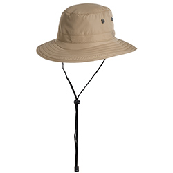 West Marine Tech Booney Hat Khaki Xl, Boating Technical Hats