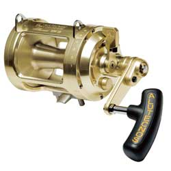 Alutecnos Albacore Conventional Reels In 2 Speed Gold 30 2s Reel Narrow Line Capacity 800m 875yds/30lb Ratio 3 3 1 1 7 1 Weight 1 610kg/56 0oz, Conventional Fishing Reels for Boats & Yachts