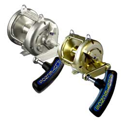 Alutecnos Veloce Albacore High Speed Reels 12 Conventional Reel Line Capacity 850m/930yd Lb Ratio 4 0 1 Weight 0 70 Kg/24 5 Oz Gold, Conventional Fishing Reels for Boats & Yachts