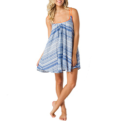O'neill Women's Baybridge Dress Indigo/white, Women's Boating Short Dresses