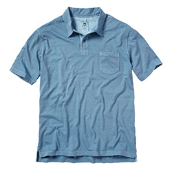 Quiksilver Men's Strolo Polo Shirt Light Grey, Men's Boating Polo Shirts
