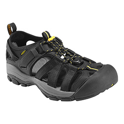 Keen Men's Owyhee Sandals Grey/yellow 12, Men's Boating Sandals