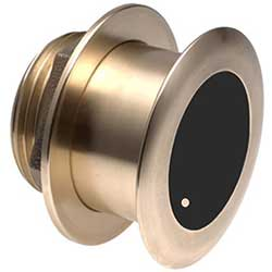 Garmin Bronze Tilted Thru Hull Transducer With Depth & Temperature (20 Tilt) Airmar B175m, Transducers for Boats & Yachts