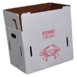 Chesapeake Crabbing Supplies Bushel Box For 1/2 Cooked Crabs, Crab & Lobster Traps for Boats & Yachts