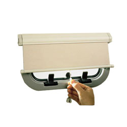 Oceanair Hatchshade 750 Cassette Roller Blinds Hatchshade 17 1/4'' X 20 1/8'' Beige, Hatch Accessories for Boats & Yachts
