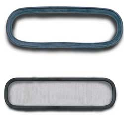 Beckson Marine Replacement Gaskets & Screens Port Gasket 5'' X 12'', Hatch Accessories for Boats & Yachts