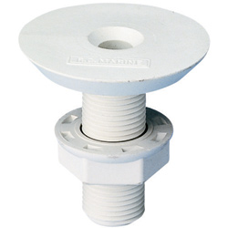 Forespar Marelon Flush Head Threaded 3/4'' 2 1/4''l, Plastic Plumbing Fittings for Boats & Yachts