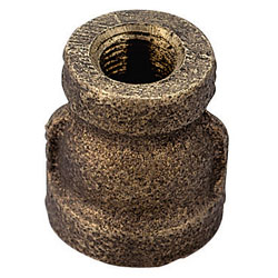 Seafit Red Bronze Couplings Reducing Coupler 1 1/2 To 3/4'', Metal Plumbing Fittings for Boats & Yachts