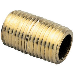 Seafit Brass Threaded Nipples Npt 1/2'' Pipe 5'' Length, Metal Plumbing Fittings for Boats & Yachts