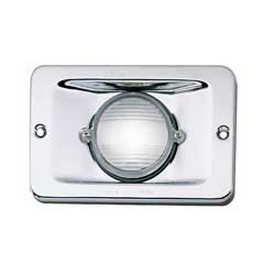 Perko Vertical Flush Mount Stern Light 5 3/16''lx 3/8''w 1/2''d, Navigation Lights for Boats & Yachts