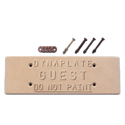 Guest Dynaplate Sintered Bronze Ground Plates Dynaplate 18'' X 6'' 1/2'' Ssb Or Ham Use, Communication Accessories for Boats & Yachts