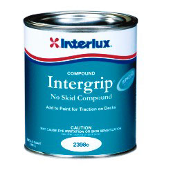 Interlux Non Skid Compound Paint Additive 1/2 Pint, Specialty & Nonskid Paints for Boats & Yachts