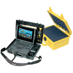 Pelican Products Waterproof Safety Cases Black 9 25''l X 7 75''w 4 5''h, Boat Storage & Organization
