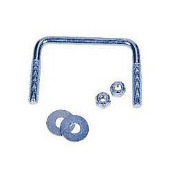 C E Smith Stainless Steel Square Bend Bolt Sets 3 1/8'' Wide X 3&#34' Long, Bunks & Rollers for Boats & Yachts