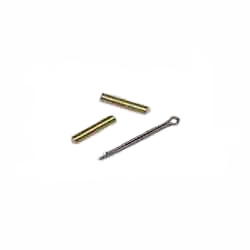 S & J Products Shear Pins 5/32''x1'' Pin Brass, Drive Train Parts for Boats & Yachts