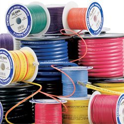 Ancor Marine Primary Wire By The Spool 14 Gauge Wire Brown 100', Primary Wire for Boats & Yachts