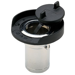 Perko Gas Deck Fills Plain, Valves, Inlets & Strainers for Boats & Yachts