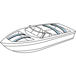 Taylor Made Boat Cover Support Bows 48'' 92'' Adjustable Wood (one And Adjuster), Boat Bimini & Cover Hardware