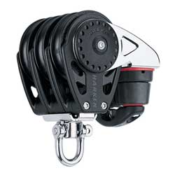 Harken 75mm Carbo Triple Block With Cam, Harken Carbo Blocks for Boats & Yachts