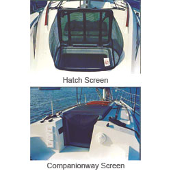 West Marine Bugbusters Hatch & Companionway Screens 30'' X, Hatch Accessories for Boats & Yachts