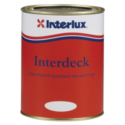 Interlux Interdeck Nonskid Paint Cream Quart, Specialty & Nonskid Paints for Boats & Yachts