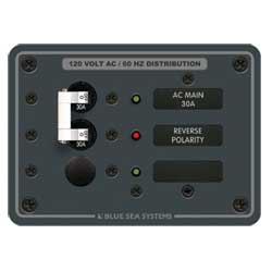 Blue Sea Systems 120v Ac Main Series   Positions, Distribution Panels for Boats & Yachts