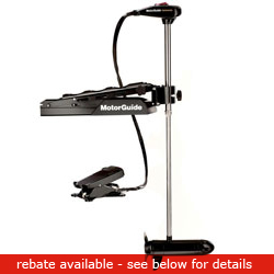 Motorguide Tour Series Tr109 Fb Freshwater Bow Mount Trolling Motor Mount 109lb Thrust 45'' Shaft 36v, Fishing Bow-Mount Trolling Motors for Boats & Yachts