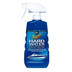 Meguiars Hard Water Spot Remover 16 Oz Spray, Specialty Cleaners for Boats & Yachts