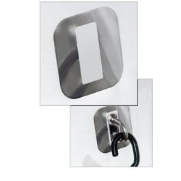 Megaware Keelguard Tiedown Scuffbuster Guard 4'' X 3'', Bunks & Rollers for Boats & Yachts