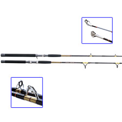 Shakespeare Ugly Stik Big Water Boat Rods Medium Heavy Action 20 50lb Test 5 tip 6' ', Conventional Fishing Rods for Boats & Yachts
