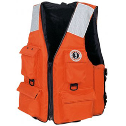 Mustang Survival Four Pocket Flotation Vest M, Commercial Life Jackets for Boats & Yachts