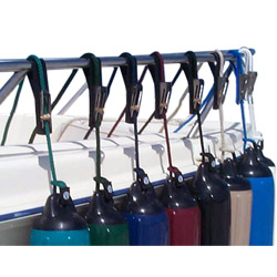 Taylor Made Tidy Ups Fender Adjuster Kits White, Dock Fender Accessories for Boats & Yachts
