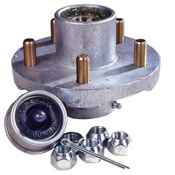 Tie Down Engineering Super Lube 5 Hole Hub Kit, Trailer Brakes & Axles for Boats & Yachts
