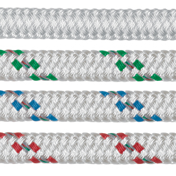 Samson Rope Xls Extra Double Braid 1/2'' Braid 8700lb Breaking Strength Green, Dyneema & Spectra Lines for Boats & Yachts