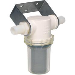 Shurflo Raw Water Strainers 1 1/4'' Port Sizes, Metal Plumbing Fittings for Boats & Yachts