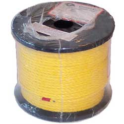 Willapa Marine Twisted Poly Rope Spool 400' Yellow, Crab & Lobster Traps for Boats & Yachts