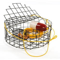 Willapa Marine Complete Crab Pot Kit, Crab & Lobster Traps for Boats & Yachts