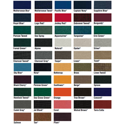Redrum Fabrics Sunbrella Fabric 46'' Wide By The Linear Yard Sapphire Blue, Practical Marine Carpets