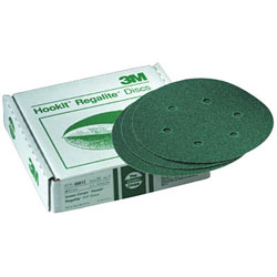 3M Green Corps Hookit Disc 8'' 24 (20pk), Abrasive Discs for Boats & Yachts