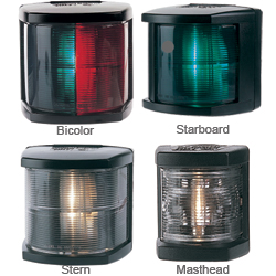 Hella Marine Navigation Lights For Boats To 65'7'' Bicolor Series 2984 Light Green/red Lens, Navigation Lights for Boats & Yachts