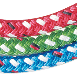 New England Ropes Endura Braid Dyneema Double In Solid Colors 10mm Braid 10 000lb Breaking Strength Red, Dyneema & Spectra Lines for Boats & Yachts