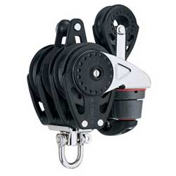Harken 57 Mm Carbo Triple Block W/ratchamatic Cam & 40, Harken Carbo Blocks for Boats & Yachts