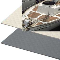 Lewmar Treadmaster Smooth Traction Deck Covering Sheet 47'' X 35'' White Sand, Dock Boarding Ladders for Boats & Yachts