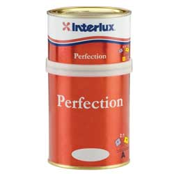 Interlux Perfection Two Part Polyurethane Paint Fighting Lady Yellow Qt, Topside Paint for Boats & Yachts