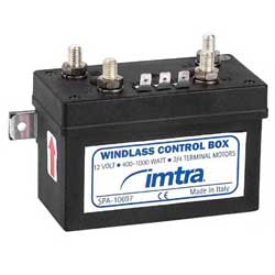 Imtra Corporation Watertight Control Box 12v For And 4 Wire Motors, Boat Windlass Accessories