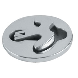 West Marine Stainless Steel Latch Tite Lifting Handles Round Handle 2 1/2'' Diameter, Boat Catches & Latches