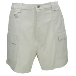 Hook & Tackle Men's Flex Ii Shorts Stone 38, Men's Boating Casual Constructed Shorts